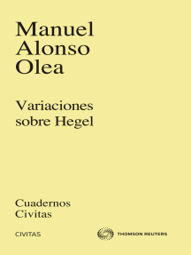 Variaciones sobre Hegel