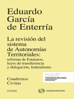 La revisión del sistema de Autonomías Territoriales