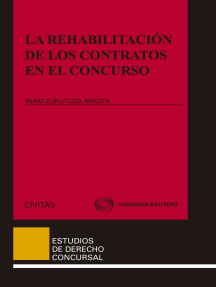 La rehabilitación de los contratos en el concurso