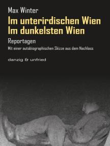 Im dunkelsten Wien / Im unterirdischen Wien: Reportagen. Mit einer autobiographischen Skizze aus dem Nachlass