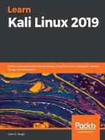 Learn Kali Linux 2019: Perform powerful penetration testing using Kali Linux, Metasploit, Nessus, Nmap, and Wireshark
