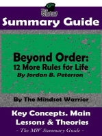 Summary Guide: Beyond Order: 12 More Rules For Life: By Jordan B. Peterson   The MW Summary Guide: Self Improvement, Mental Resilience, Self Awarness, Interpersonal Relationships