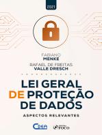 Lei geral de proteção de dados: Aspectos relevantes