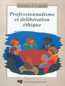 Professionnalisme et délibération éthique
