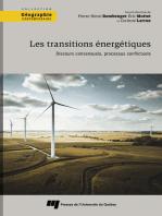 Les transitions énergétiques: Discours consensuels, processus conflictuels