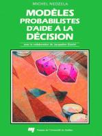 Modèles probabilistes d'aide à la décision