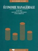 Économie managériale