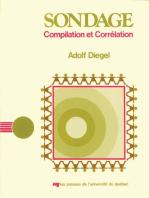 Sondage: Compilation et corrélation