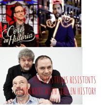 LOS ILUSTRES RESISTENTES IGNORANTES DEL LOCO MUNDO CON TARDIO MOTIVO PARA ZERO EN HISTORIA