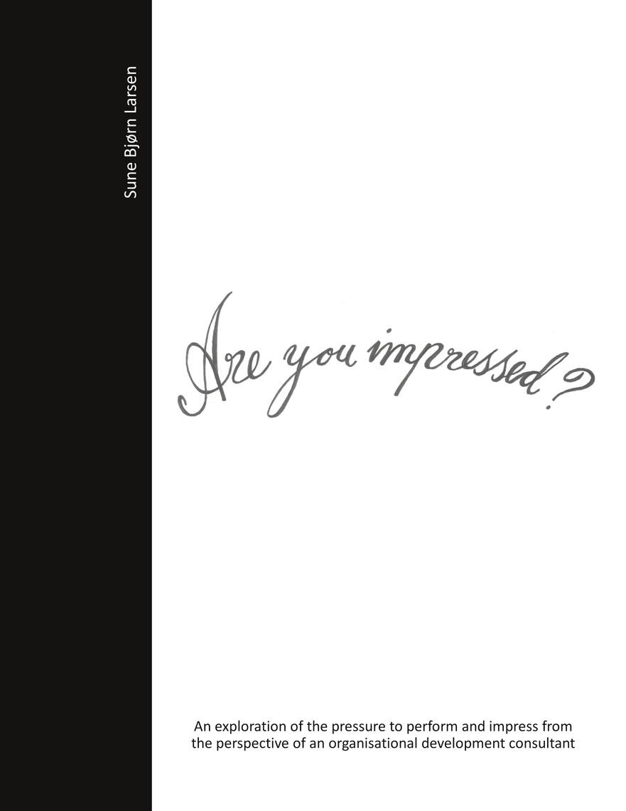 Read Are you impressed Online by Sune Bjørn Larsen   Books