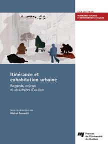 Itinérance et cohabitation urbaine: Regards, enjeux et stratégies d'action