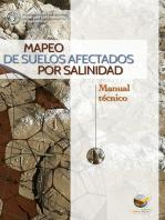 Mapeo de suelos afectados por salinidad
