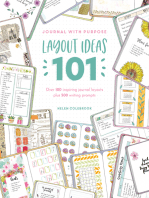 Journal with Purpose Layout Ideas 101: Over 100 inspiring journal layouts plus 500 writing prompts