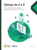 Django de A a Z: Crie aplicações web rápidas, seguras e escaláveis com Python