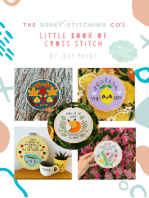 The Geeky Stitching Co's Little Book of Cross Stitch