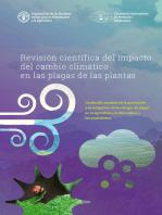 Revisión científica del impacto del cambio climático en las plagas de las plantas