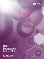 ITIL® Foundation, édition ITIL 4