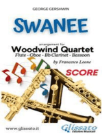 Swanee - Woodwind Quartet (SCORE)