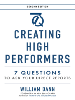 Creating High Performers - 2nd Edition