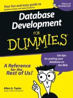 Database Development For Dummies