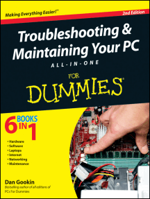 Troubleshooting and Maintaining Your PC All-in-One For Dummies
