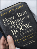 How to Run Your Business by THE BOOK