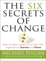 The Six Secrets of Change
