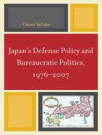 Japan's Defense Policy and Bureaucratic Politics, 1976-2007