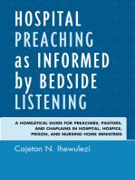 Hospital Preaching as Informed by Bedside Listening