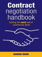 Contract Negotiation Handbook
