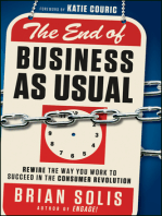 The End of Business As Usual